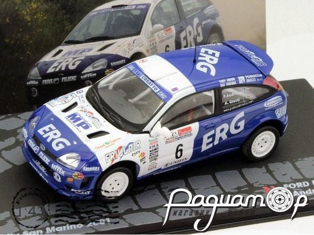 Ford Focus RS WRC P.Andreucci A.Giusti Rally San Marino (2001) AR61