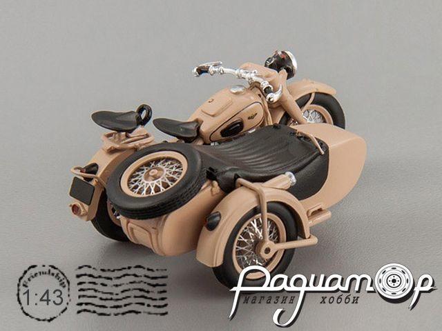 Мотоцикл ИМЗ М-72М с коляской (1955) 307206