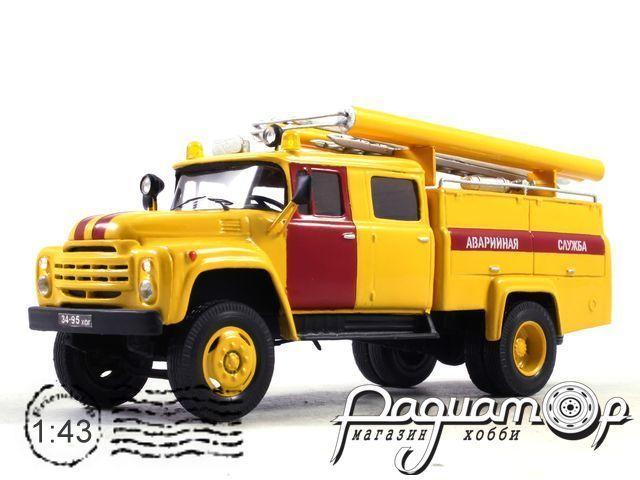 ЗиЛ-130 АЦ-30-63А пожарная автоцистерна (1962) 6-16-Y
