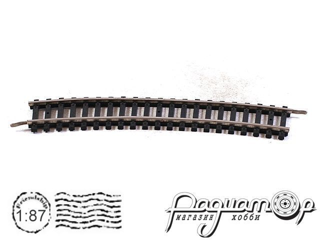 Набор овальных рельс (11шт) (I) 0699