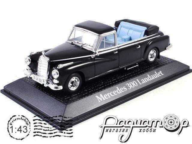 Mercedes-Benz 300D Landaulet Type W189, Конрад Аденауэр, Германия (1963) GX603