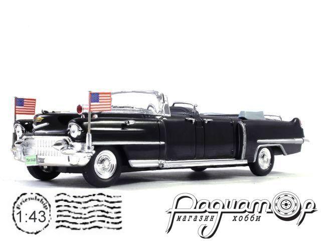 Cadillac Limousine, визит Елизаветы II / Дуайт Д. Эйзенхауэр, Париж (1959) GX606