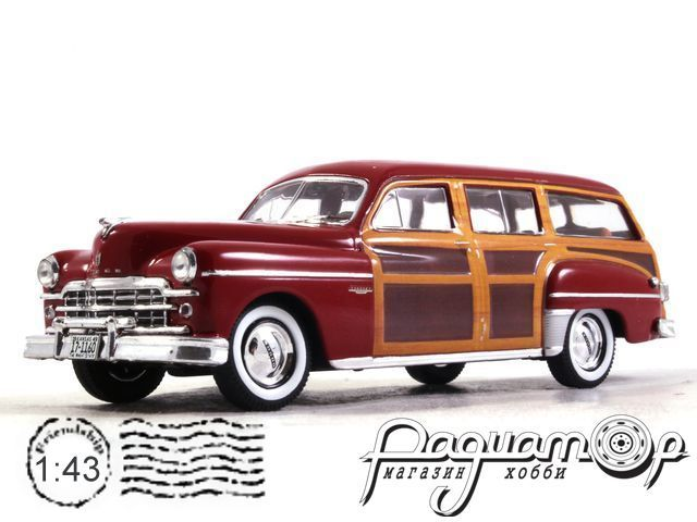 Dodge Coronet Woody Wagon (1949) PRD563