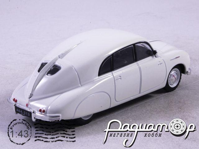 Автолегенды СССР и Соцстран №198, Tatra-T600 (1951)