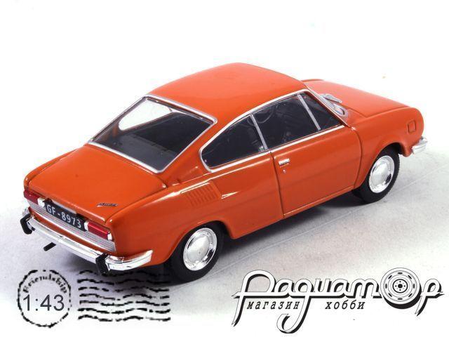 Автолегенды СССР и Соцстран №200, Skoda-110R (1970)