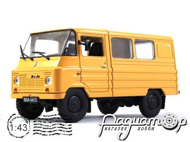 Автолегенды СССР и Соцстран №202, ZUK A-07M (1958)