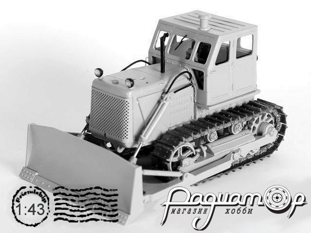 Сборная модель Бульдозер гидравлический ДЗ-54(Т-100МГП) (1964) T005