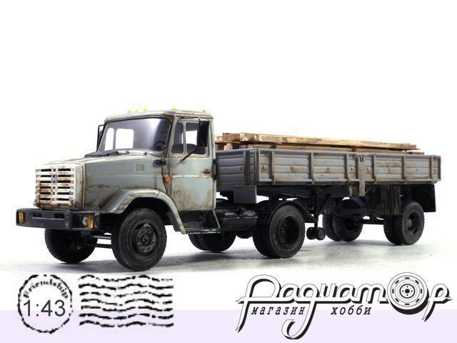 ЗиЛ-4331 с полуприцепом и дровами (1986) NIK102