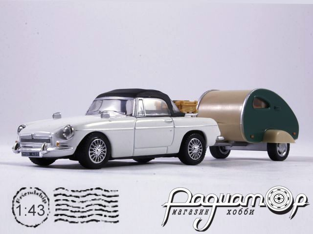 MGB with Trailer (1962) HW011