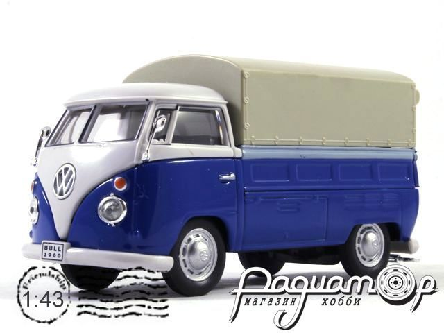 Volkswagen T1 Covered Pickup (1951) 251XND-204