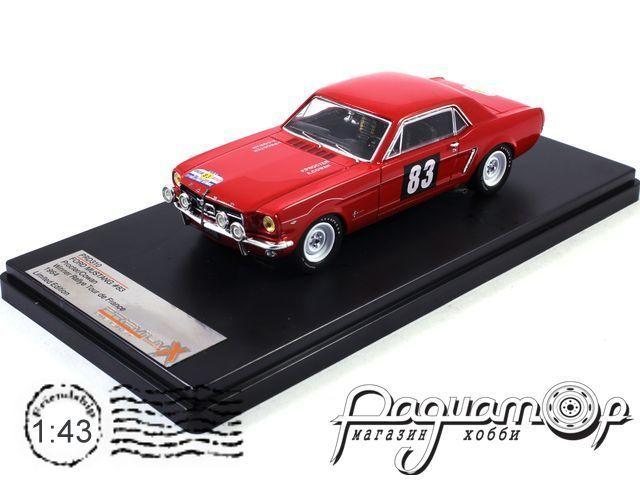 Ford Mustang №83 Procter/Cowan Winner Rallye de France (1964) PRD310