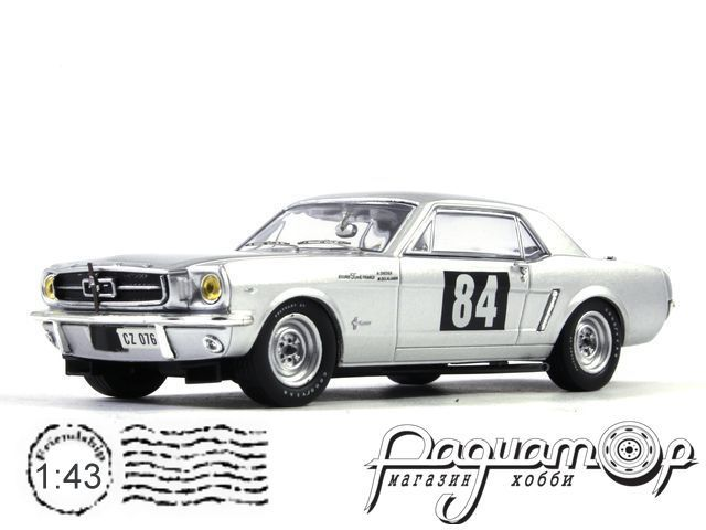 Ford Mustang №84 Greder/Delalante Rally Tour De France (1964) PRD311
