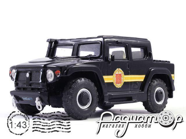 ГАЗ-2330 «Тигр» парадный (2005) 14-19