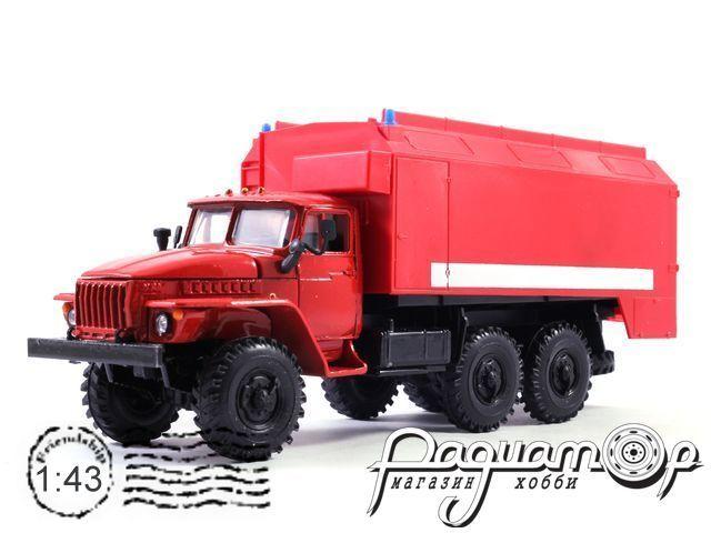 Урал-4320 кунг пожарный АР-2 (1977) 2002