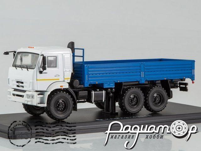 КАМАЗ-43118 6x6 бортовой (рестайлинг) (2014) SSM1237