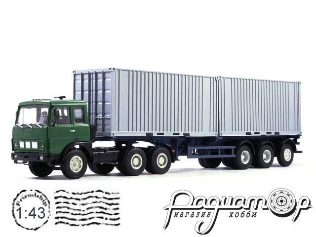 МАЗ-6422 с полуприцепом-контейнеровозом МАЗ-938920 (1990) 101593