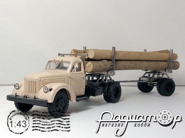 Набор для сборки Лесовоз для установки на ЗиС-5, УралЗиС-355М MM2031