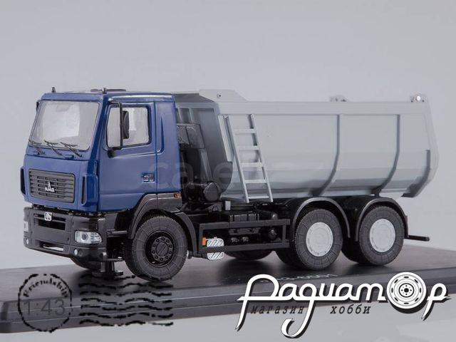 МАЗ-6501 самосвал, U-образный кузов (2015) SSM1206