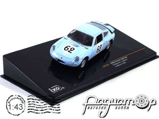 Simca Abarth 1300 №62 Le Mans (1962) LMC148 (I)