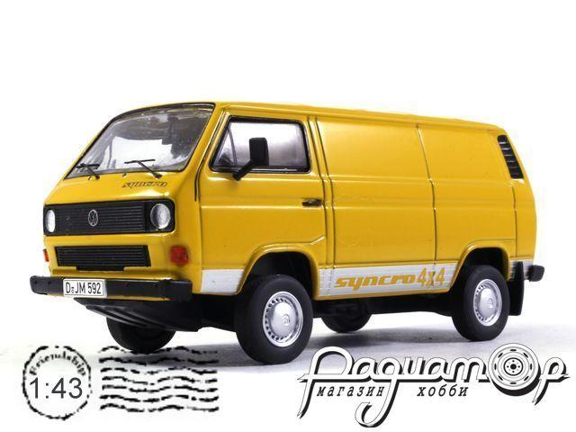 Volkswagen T3b Kasten 4x4 Syncro (1984) PCL13001