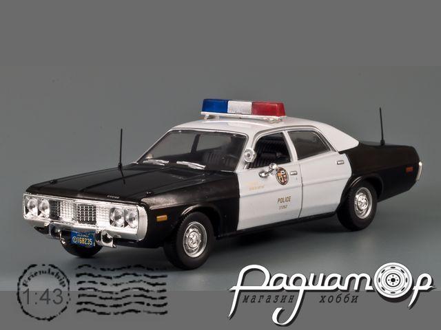 Полицейские Машины Мира №53, Dodge Coronet Полиция Лос-Анджелеса (1973) (L)
