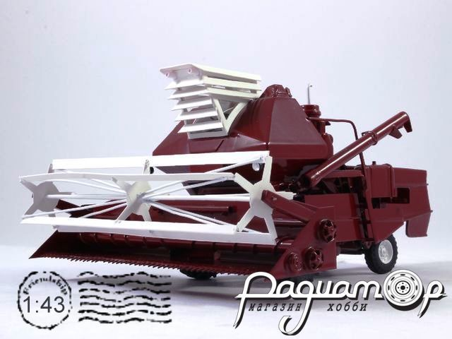 Комбайн СК-6 «Колос» экспортный (1975) NRG1090