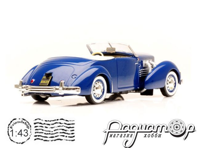 Cord 812 Convertible Phaeton (1937) MUS030 (Z)