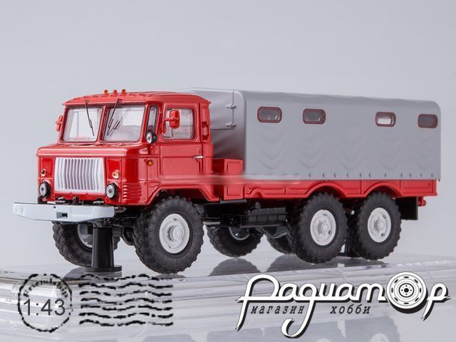 ГАЗ-34 с тентом (1964) SSML013 (Limited edition 360pcs)