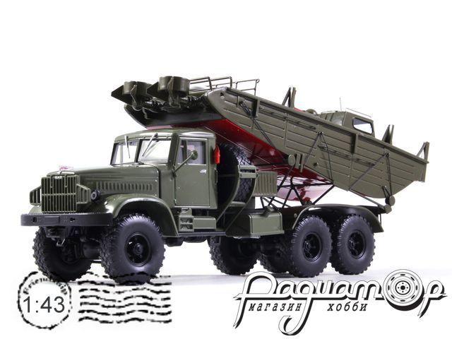 КрАЗ-214Б БМК-Т катер пантонной переправы (1957) 161124