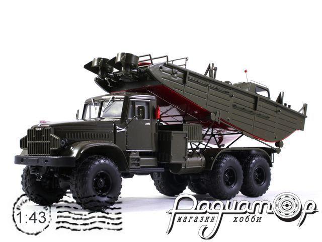 КрАЗ-255 БМК-Т катер пантонной переправы (1967) 161130