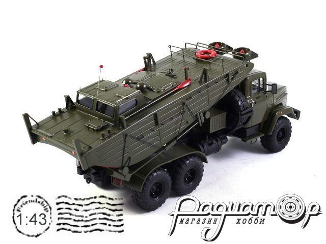 КрАЗ-6322 БМК-Т катер понтонной переправы (1994) 161206