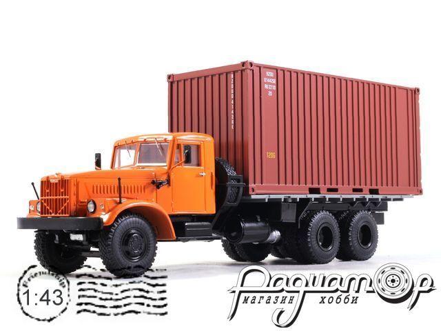 КрАЗ-257Б1 контейнеровоз (1977) SSM1148