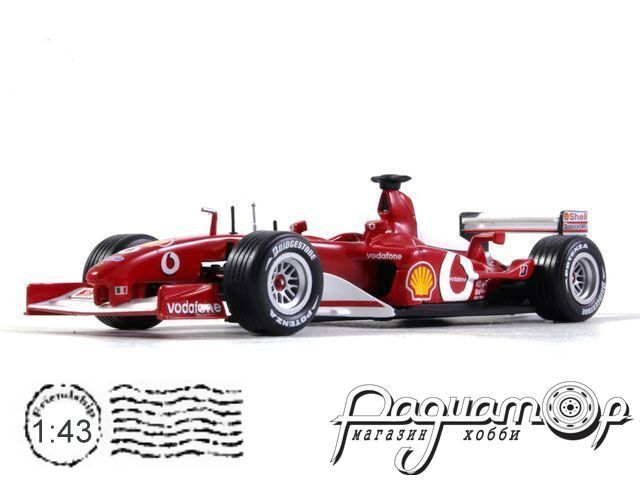 Ferrari F2002 №1 Formula-1, World Champion, Michael Schumacher (2002) 32398