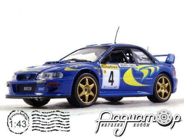 Subaru Impreza WRC №4 Rally Monte Carlo, Liatti/Pons (1997) EE04