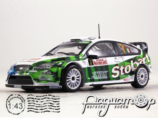Ford Focus WRC №7 Rally Monte Carlo, Galli/Bernacchini (2008) 920542