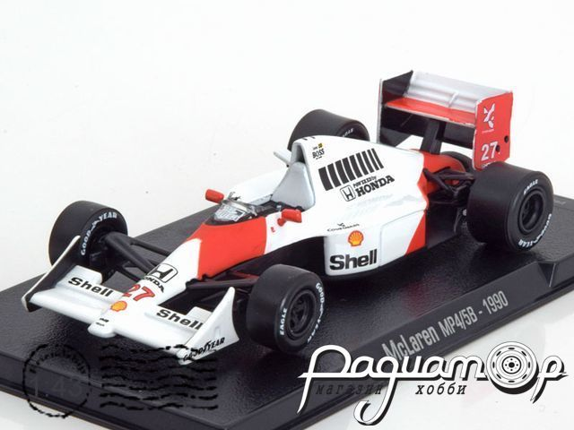 McLaren MP4/5B №27 World Champion Formula-1, Ayrton Senna (1990) 68602