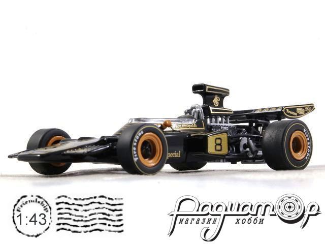 Lotus Ford 72D №8 World Champion Formula-1, Emerson Fittipald (1972) GL06