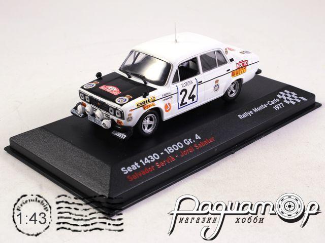 Seat 1430 No.24, Rally Monte Carlo Servia/Sabater (1977) 34737