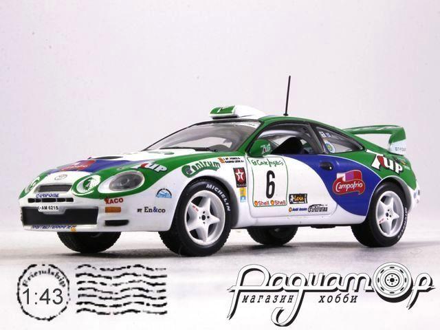Toyota Celica GT4 No.6, Rally El Corte Ingles Ponce/Leon (1996) 47987