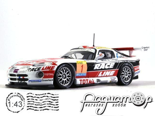 Chrysler Viper GTS-R №1 Winner 24h Spa, Bouchut/Bourdais/Vosse/Terrien (2002) 919832