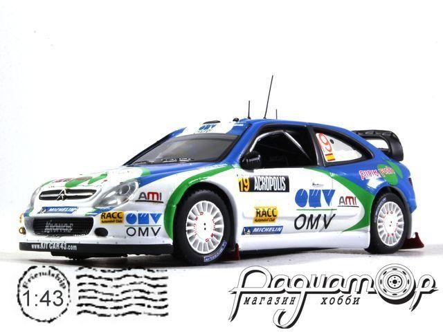 Citroen Xsara WRC №19 Rally Acropolis, X. Pons, C. Del Barrio (2005) RAM198