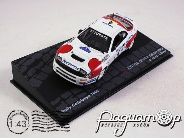 Toyota Celica Turbo 4WD №4 Rally Spain, C.Sainz, L.Moyaa (1992) 920138