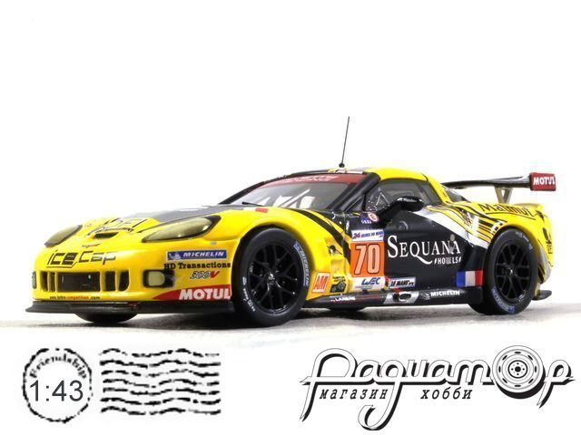 Chevrolet Corvette C6 ZR1 №70 24h LeMans, Belloc/Bourret/Gibon (2012) LMM241