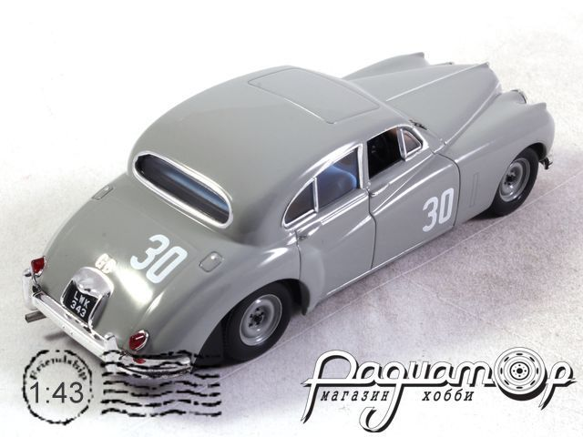 Jaguar MKVII №30 Stirling Moss, Winner Silverstone Touring Car (1952) RAC239 (I)