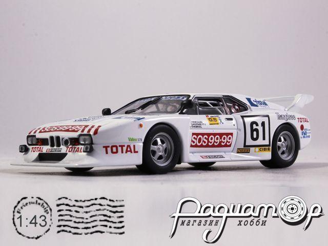 BMW M1 №61 24h LeMans, R.Ennequin, M.Gabriel, F.Gasparetti (1982) FT36