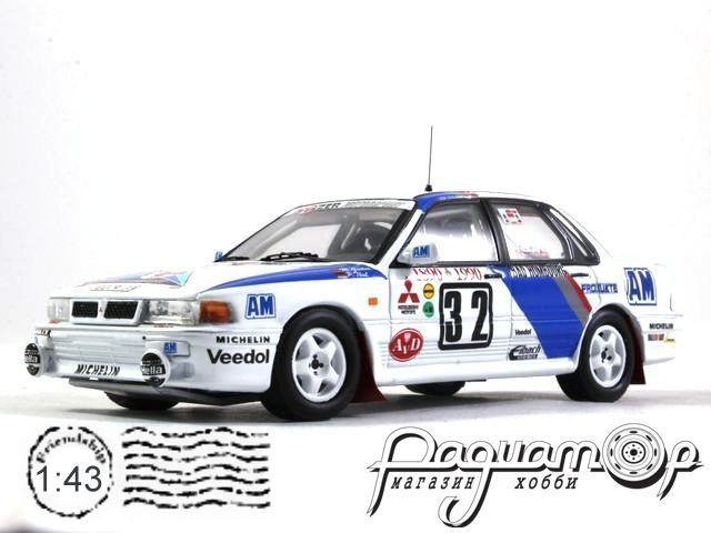 Mitsubishi Galant VR-4 Evo №32 Rally Monte Carlo, M.Gerber, P.Thul (1990) RAC231