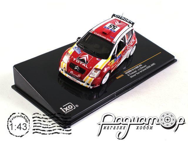 Citroen C2 S1600 №55 Winner Tour de Corse, B.Tirabassi, J-J.Renucci (2006) RAM245 (I)