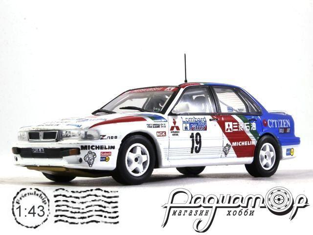 Mitsubishi Galant VR-4 №19 RAC Rally, P.Airikkala, R.McNamee (1989) 919213