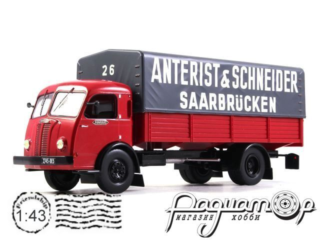Panhard Movic Truck Anterist and Schneider Saarbrucken (1952) TRU014