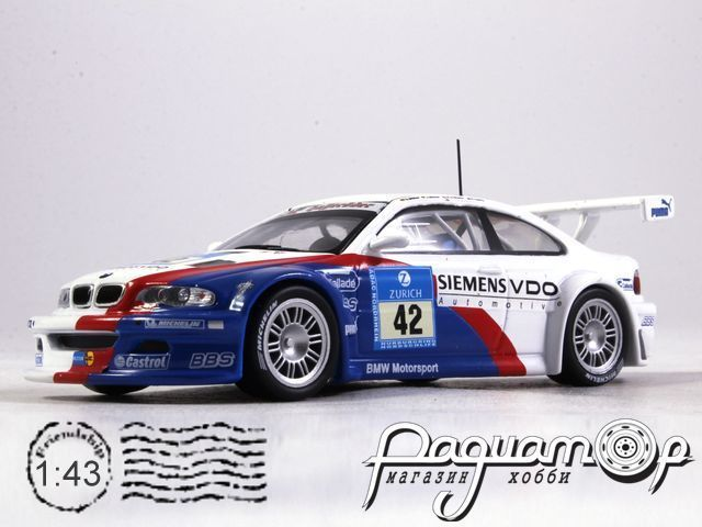 BMW M3 GTR №42 Winner 24h Nurburgring (2004) 919827